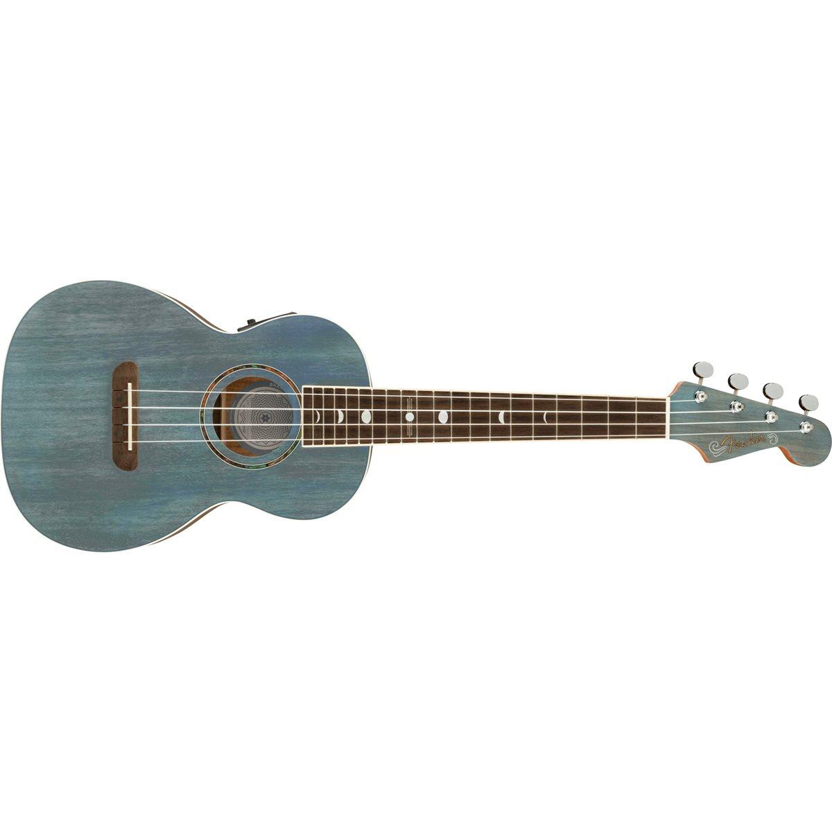 FENDER - DHANI HARRISON UKE - Turquoise